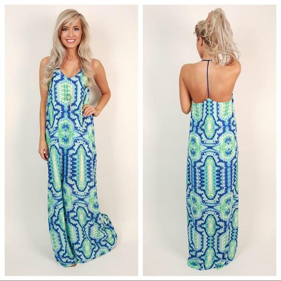 8a4821447faf3 Buddy Love Dresses & Skirts - Buddy Love Shakira Bahama Mama Maxi Dress  Size M